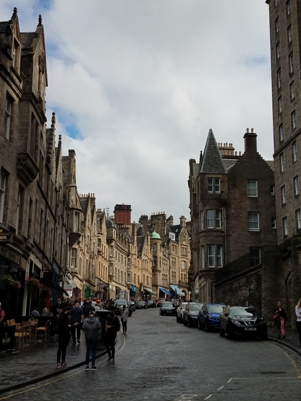 Edinburgh street view