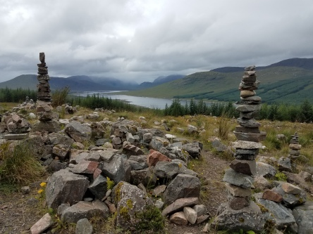 highlands with cairns